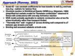 approach ronney 2003