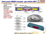 some power mems concepts gas turbine mit