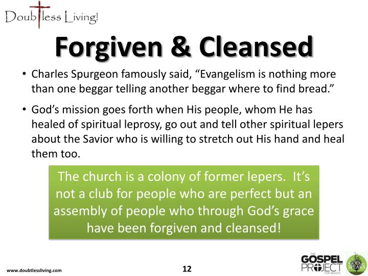 Forgiven & Cleansed