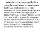 l administration responsable de la compilation des comptes nationaux