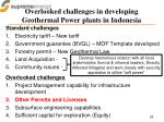 overlooked challenges in developing geothermal power plants in indonesia1