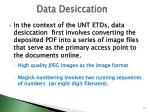 data desiccation1