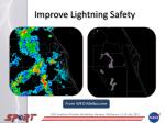 improve lightning safety
