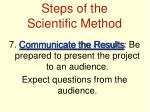 steps of the scientific method6