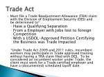 trade act