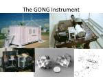 the gong instrument