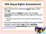 era equal rights amendment
