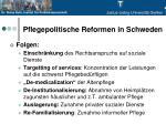 pflegepolitische reformen in schweden2