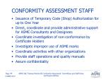 conformity assessment staff1