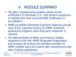 v module summary2