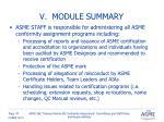 v module summary3
