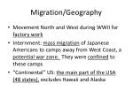 migration geography