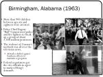 birmingham alabama 19631