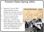 freedom rides spring 1961
