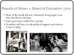 results of brown v board of education 1954