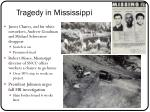tragedy in mississippi