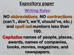 expository paper
