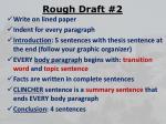 rough draft 2