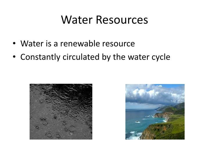 Water resources1