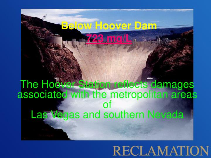below hoover dam 723 mg l n.