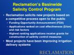 reclamation s basinwide salinity control program