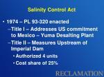 salinity control act