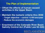 the plan of implementation