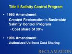 title ii salinity control program1