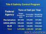 title ii salinity control program4