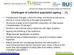 challenges of collective population ageing 1