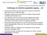 challenges of collective population ageing 2