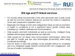 old age and it linked services