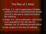 the plan of 1 peter