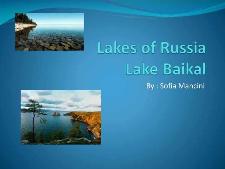 lakes of russia lake baikal n.
