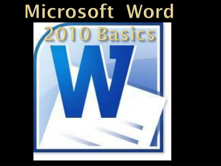 microsoft word 2010 basic To identify the add-in that may be causing the behavior, follow these steps: quit all microsoft office programs, including word and microsoft outlook.
