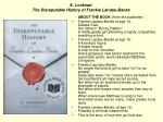 e lockhart the disreputable history of frankie landau banks