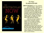 tim tharp the spectacular now