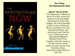 tim tharp the spectacular now1