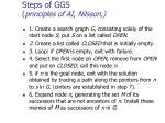 steps of ggs principles of ai nilsson