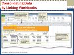 consolidating data by linking workbooks1