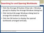 searching for and opening workbooks2