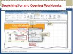 searching for and opening workbooks3