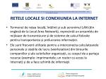 retele locale si conexiunea la internet