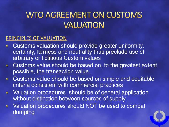 WTO iLibrary | A Handbook on the WTO Customs Valuation ...