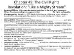 chapter 45 the civil rights revolution like a mighty stream