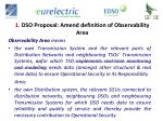1 dso proposal amend definition of observability area