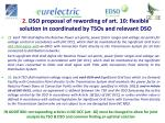 2 dso proposal of rewording of art 10 flexible solution in coordinated by tsos and relevant dso