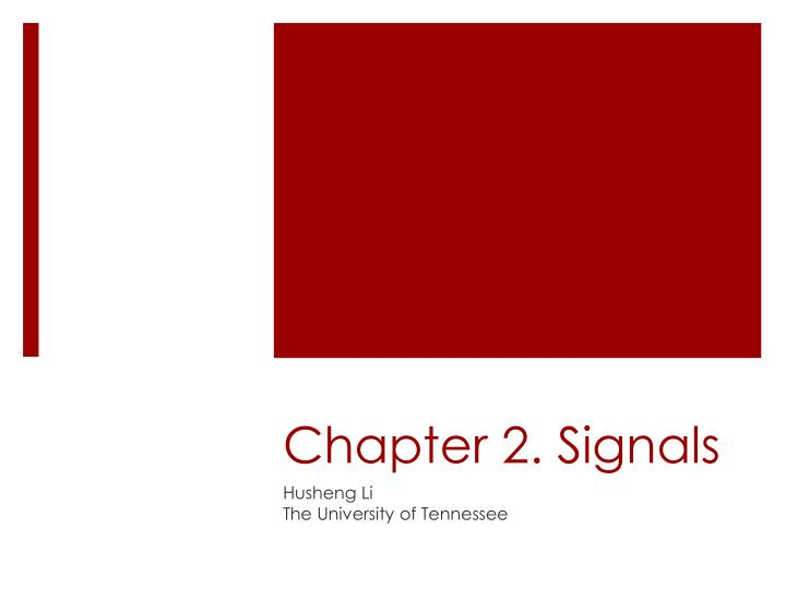 chapter 2 signals n.