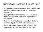 eisenhower doctrine space race
