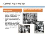 central high impact